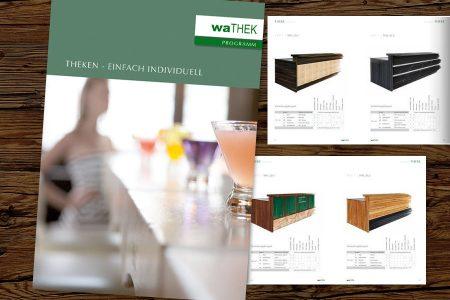 wathek Katalog für Theken