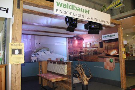 Waldbauer Messestand Gastromesse Salzburg