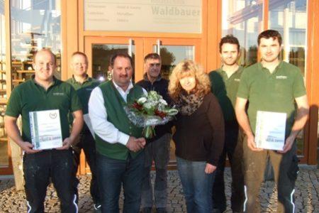 Waldbauer Mitarbeiterjubiläum