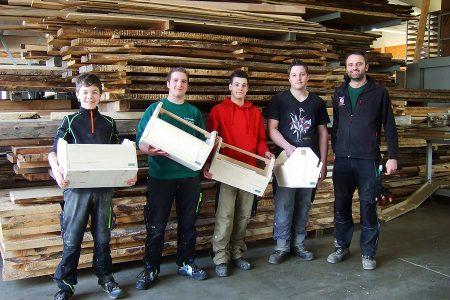 Praktikumswoche 2015 Holztechnik Waldbauer