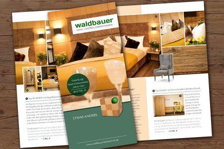 Waldbauer Flyer Hotelzimmer Silver Oak