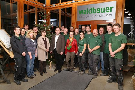 Team Waldbauer Frohe Weihnachten 2015