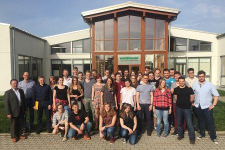 Zusammenarbeit Waldbauer mit BS Waldkirchen und FH Rosenheim
