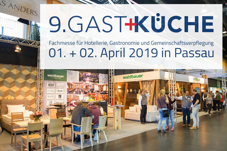 Gast+Küche 2019 in Passau - Waldbauer ist dabei - Waldbauer