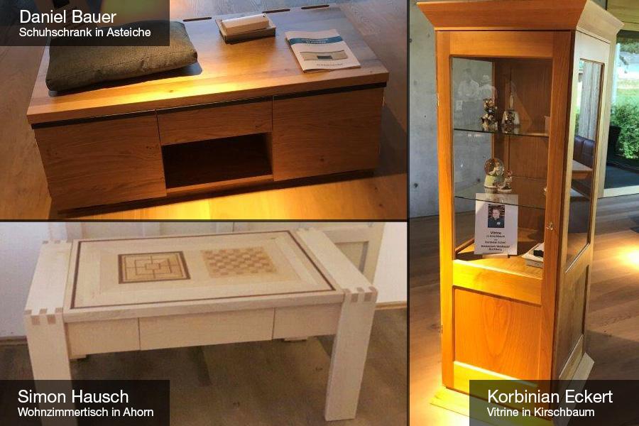 Ausstellung der Gesellenstücke - Waldbauer-Azubis