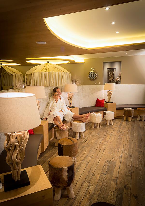Jagdhof-Relaxpavillon-Einrichtung
