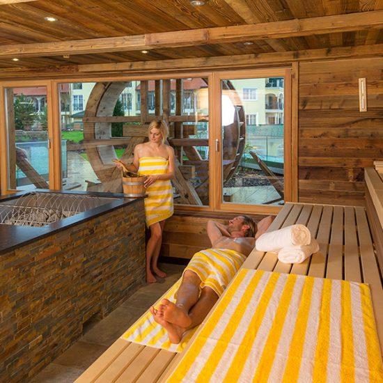 Jagdhof-Sauna-Einrichtung