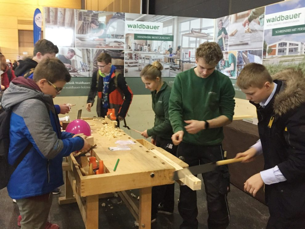 Ausbildungsmesse Passau 2018 - Rückblick