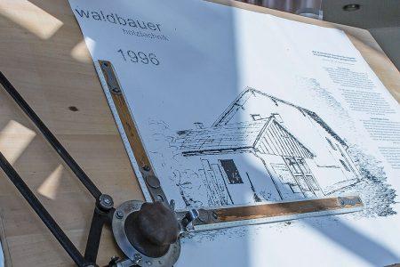 Firmenentwicklung des Unternehmens Waldbauer seit 1996