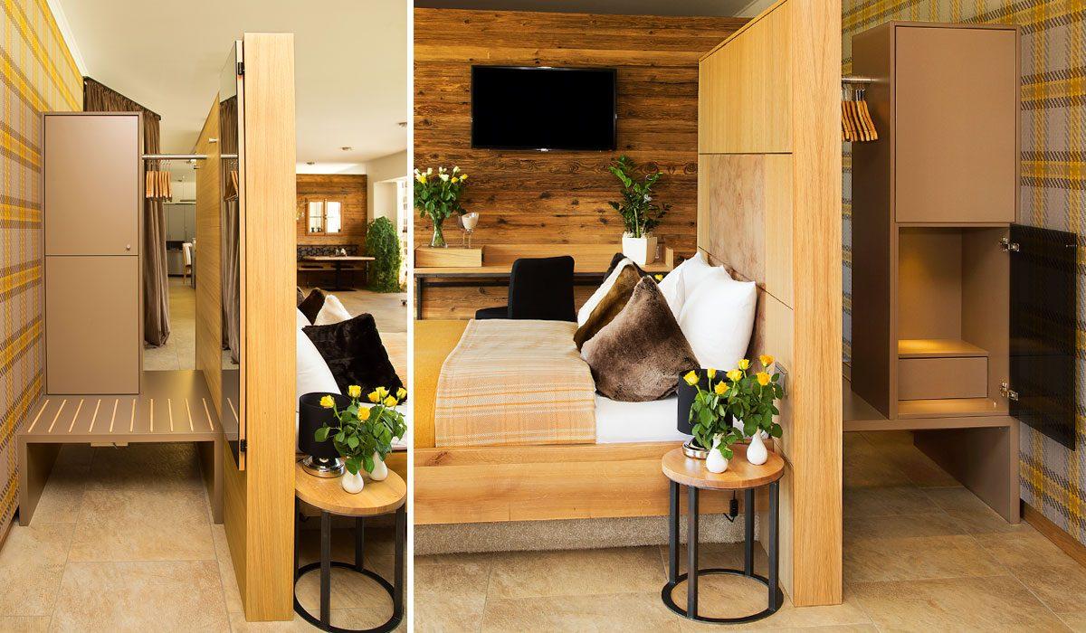 Waldbauer Komplettzimmer Silver Oak, Typ Business - Hotelzimmer bzw. Gästezimmer