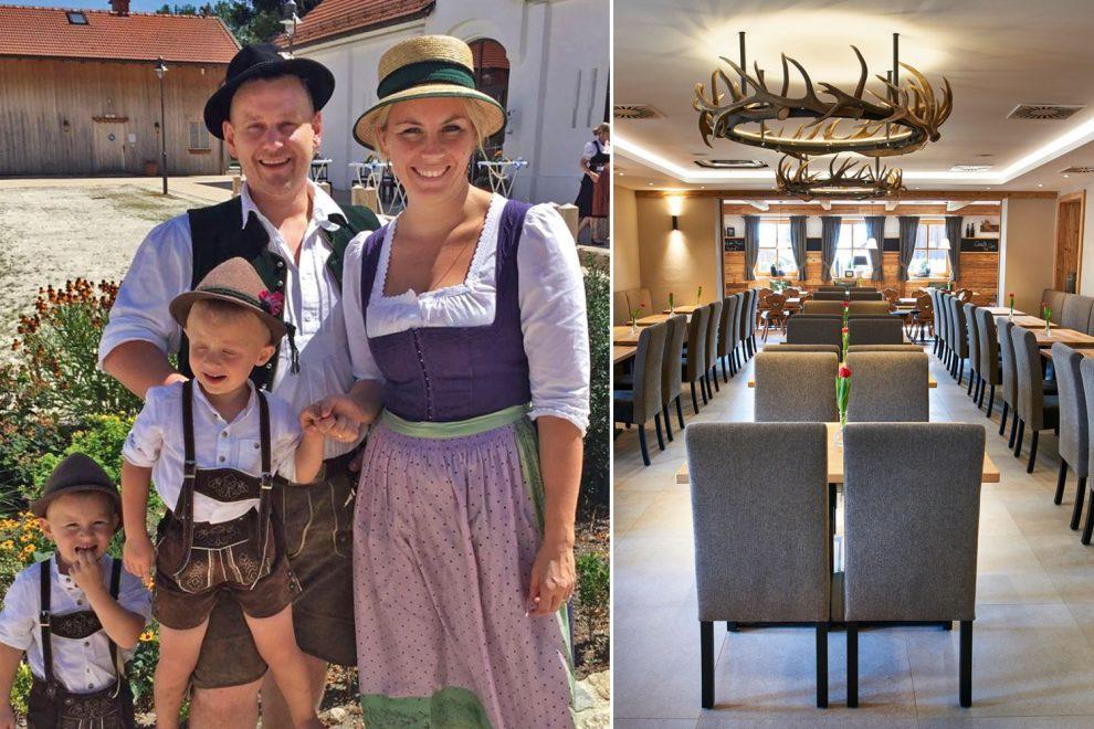 Waldbauer-Kundenstimme , Familie Gruber, Gasthaus zum Streiblwirt