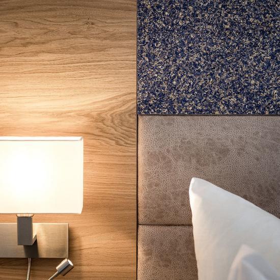 Urlaubshotel Binder in Büchlberg - Detail Bett | Waldbauer Hoteleinrichtung