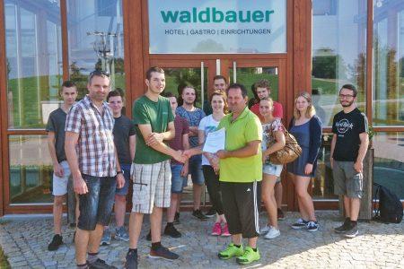 Glückwunsch an Florian Wagner zur bestandenen Gesellenprüfung