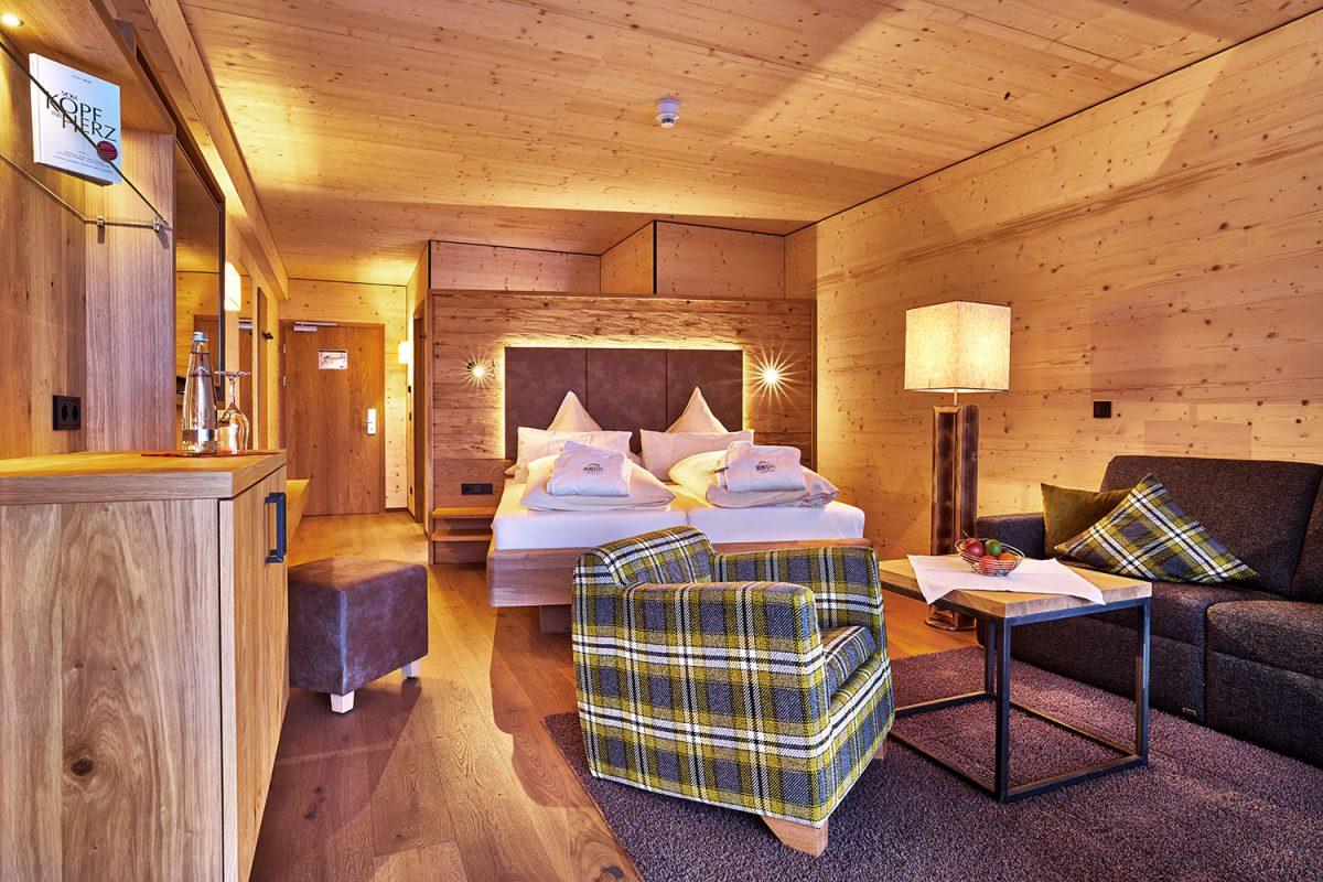 Hoteleinrichtung - Hotelzimmer im Hotel Riedlberg | Waldbauer