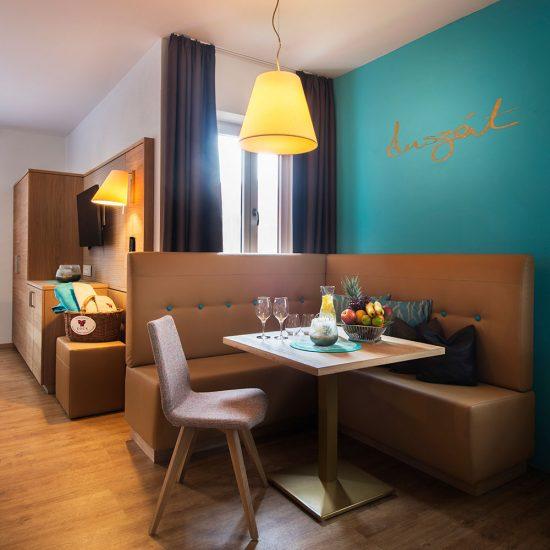 Thermalresort Köck Hotelzimmer - modern mit schlichter Eleganz