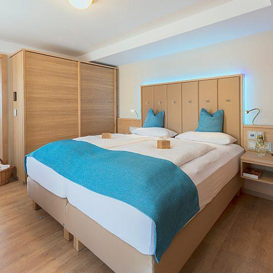 Thermalresort Köck Hotelzimmer - moderner, schlichter und eleganter Stil