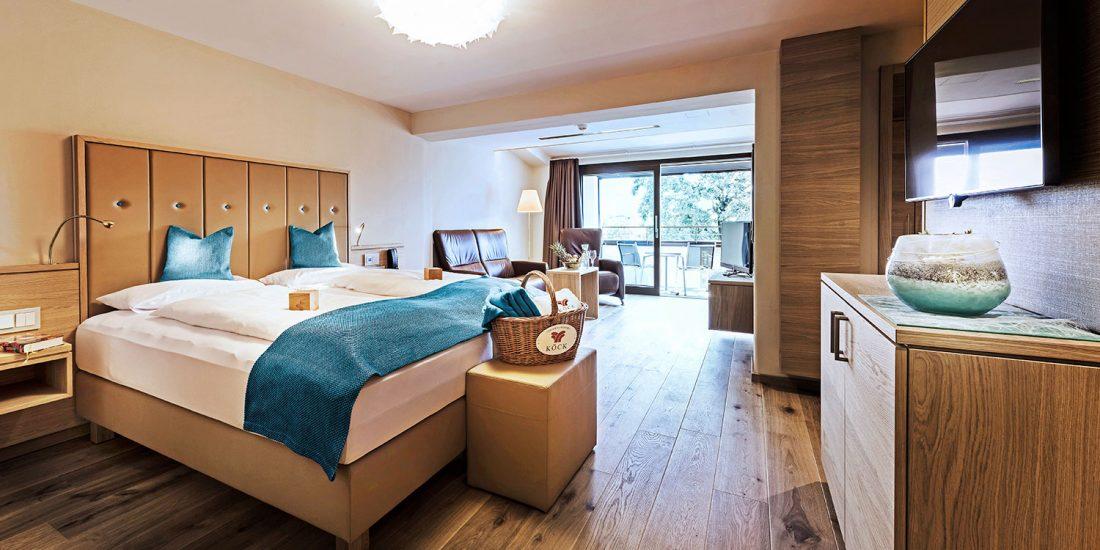 Thermalresort Köck in Bad Füssing - Hoteleinrichtung mit Zimmern und Suiten
