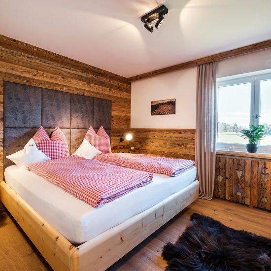 Hussnhof Ferienwohnungen Schlafzimmer | Waldbauer Hotel- und Gastroeinrichtungen