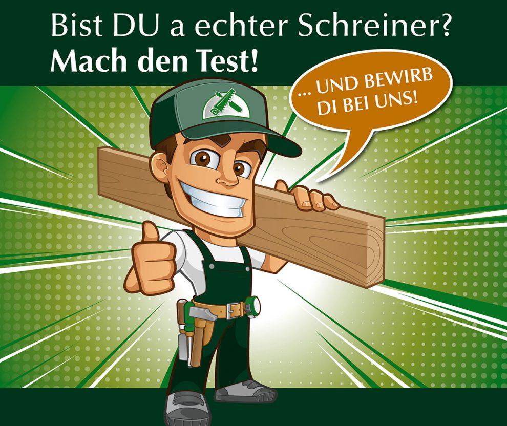 Du bist a echter Schreiner? Mach Karriere bei Waldbauer!