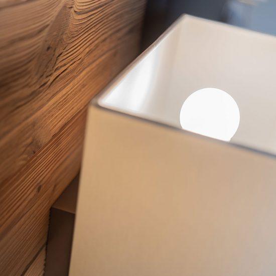 "Doppelbett ""Heimatglück"" | Detail - Lampen optional erhältlich"
