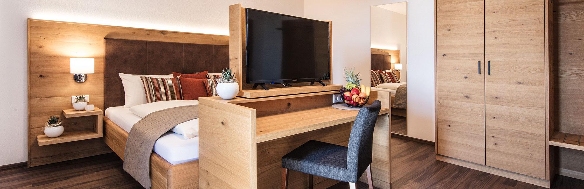 Hoteleinrichtung - Hotelzimmer Typ Goldsteig