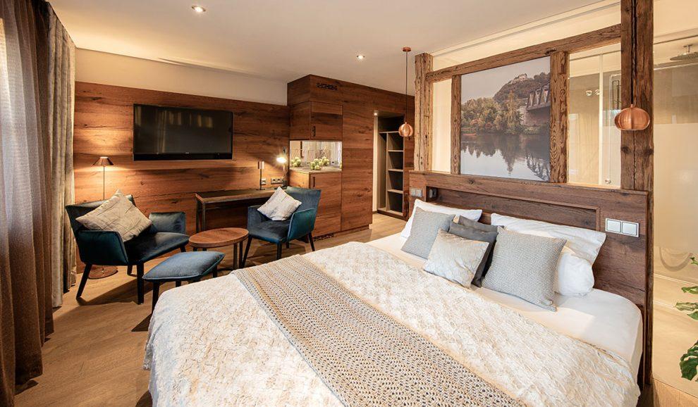 """Hotelzimmer Typ """"Kuschelnest"""" - Hoteleinrichtung"""