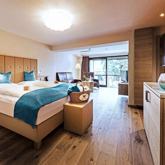 Hotelzimmer im Thermalresort Köck
