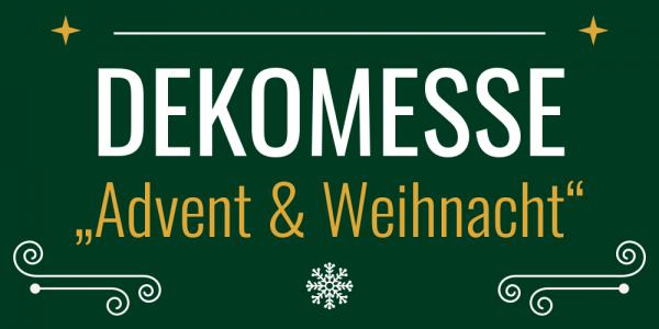 Logo Dekomesse Advent & Weihacht | Messetermine