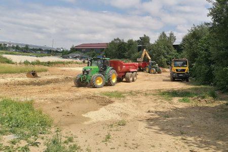 Bau unserer neuen Lagerhalle | Waldbauer wächst